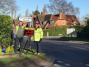 speed checks Hurst